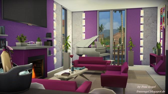 Modern Mansion at Frau Engel image 3614 Sims 4 Updates