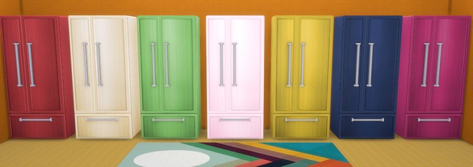 Sims 4 Fridge and stove recolors at Saudade Sims