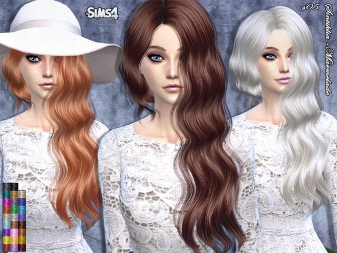 Sims 4 Marmelade hair by Sintiklia at TSR