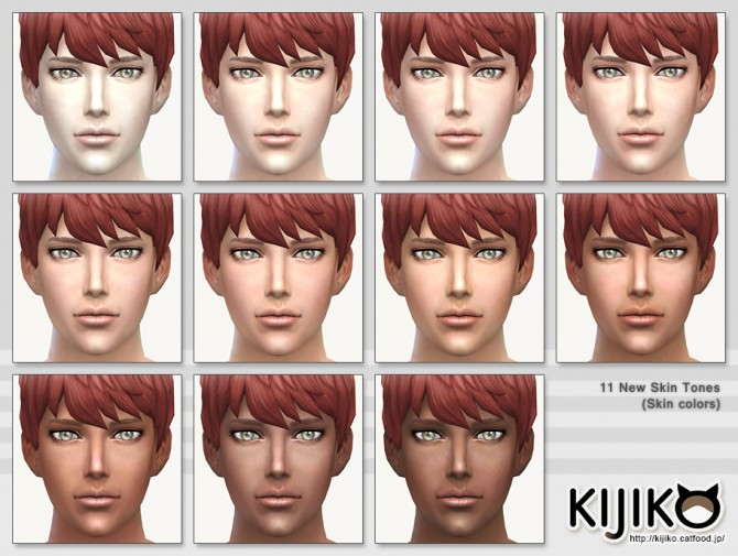 Skin Tones Glow Edition and Texture Overhaul at Kijiko image 3728 Sims 4 Updates