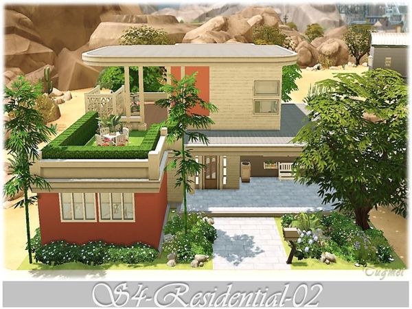 Sims 4 S4 Residential 02 by Tugmel at TSR