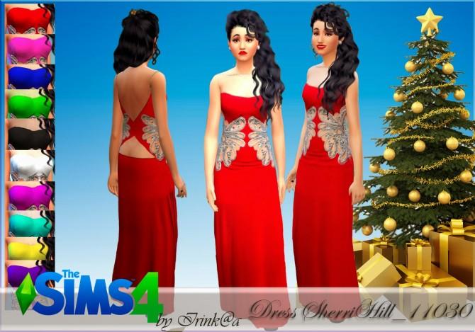 Sims 4 Dress at Irink@a