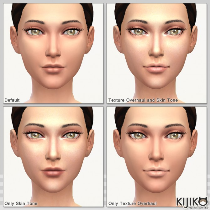 Skin Tones Glow Edition and Texture Overhaul at Kijiko image 3829 Sims 4 Updates
