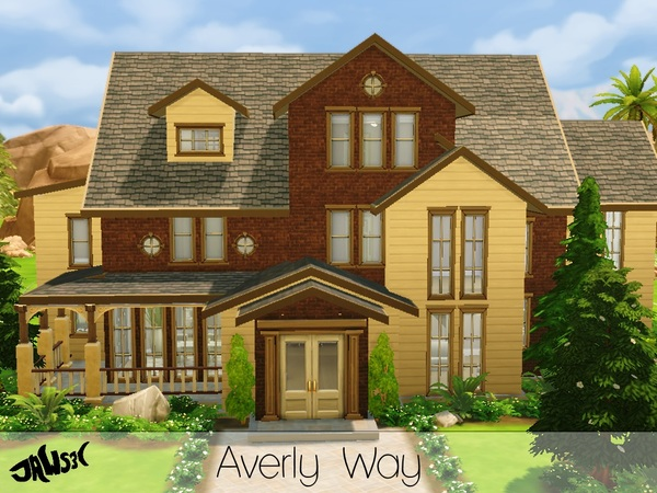 Sims 4 Averly Way house by Jaws3 at TSR