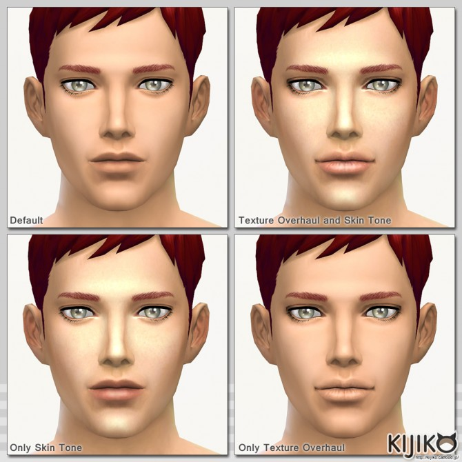 Skin Tones Glow Edition and Texture Overhaul at Kijiko image 3928 Sims 4 Updates