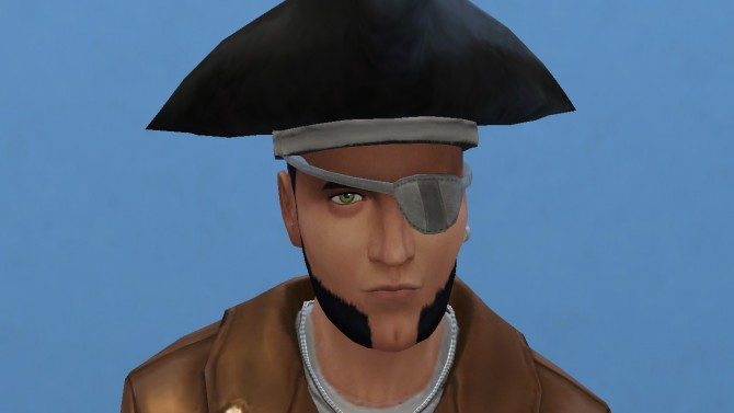 Pirate eyepatch conversion by necrodog at Mod The Sims image 399 Sims 4 Updates