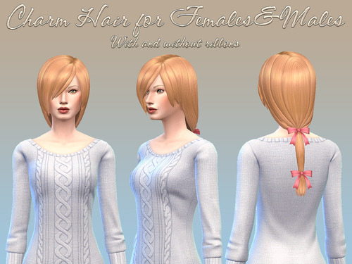 Charm Hair at NotEgain image 4025 Sims 4 Updates