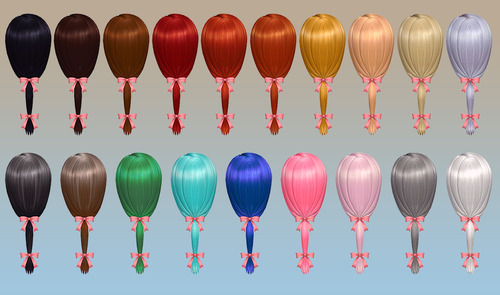 Charm Hair at NotEgain image 4132 Sims 4 Updates