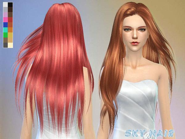 Sims 4 Hair 251 by Skysims at TSR