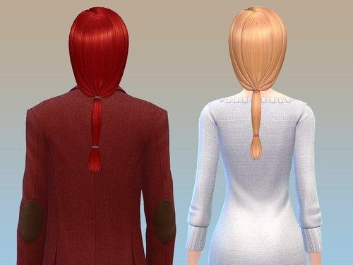 Sims 4 Charm Hair at NotEgain
