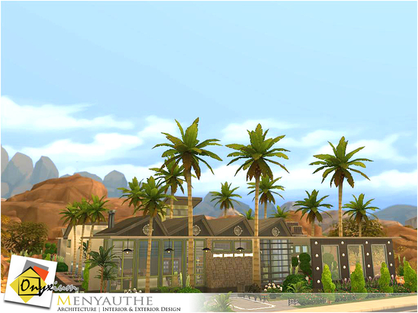 Sims 4 Menyauthe house by Onyxium at TSR
