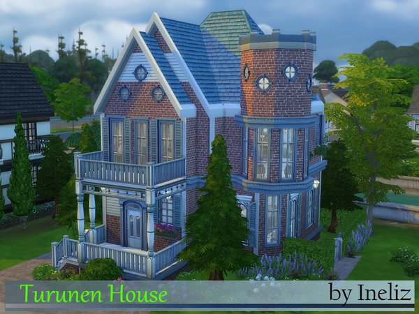 Sims 4 Turunen House by Ineliz at TSR