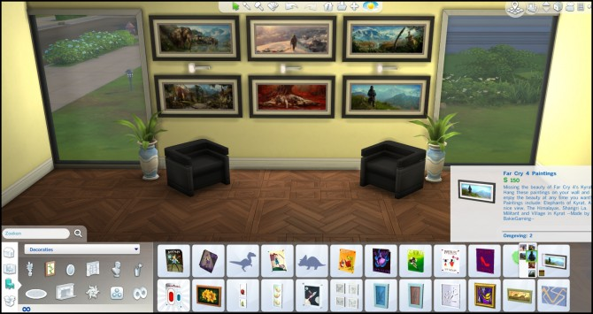 Far Cry 4 paintings by Bakie at Mod The Sims image 4519 Sims 4 Updates