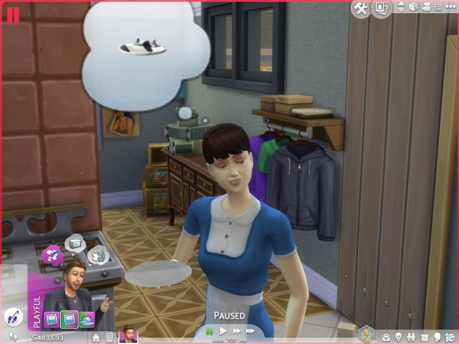 Sims 4 Maid & Mailman No Fake Actions by Shimrod101 at Mod The Sims