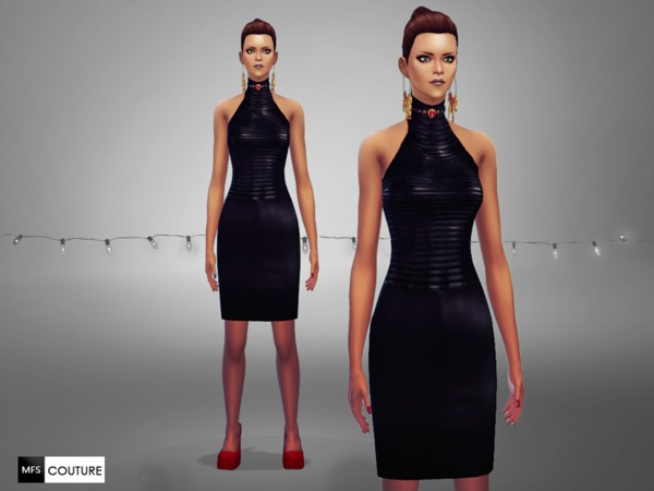 MFS Glamour Holidays dresses by MissFortune at TSR image 5014 Sims 4 Updates