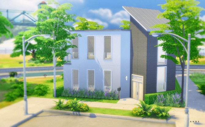 REFLECTIONS house at Alachie & Brick Sims image 5019 Sims 4 Updates