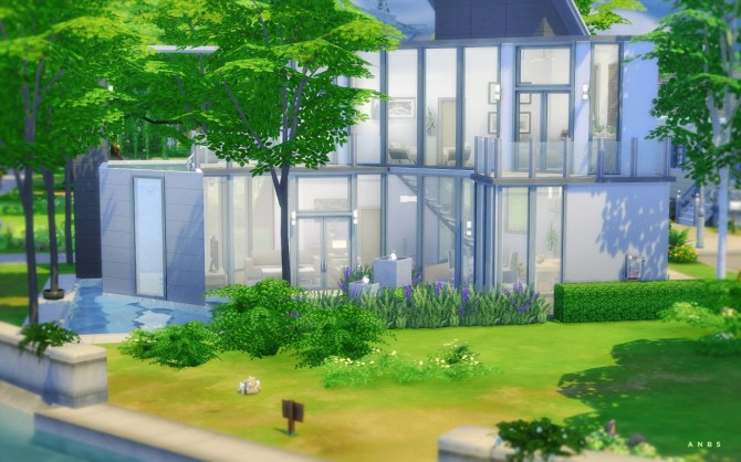 REFLECTIONS house at Alachie & Brick Sims image 5125 Sims 4 Updates