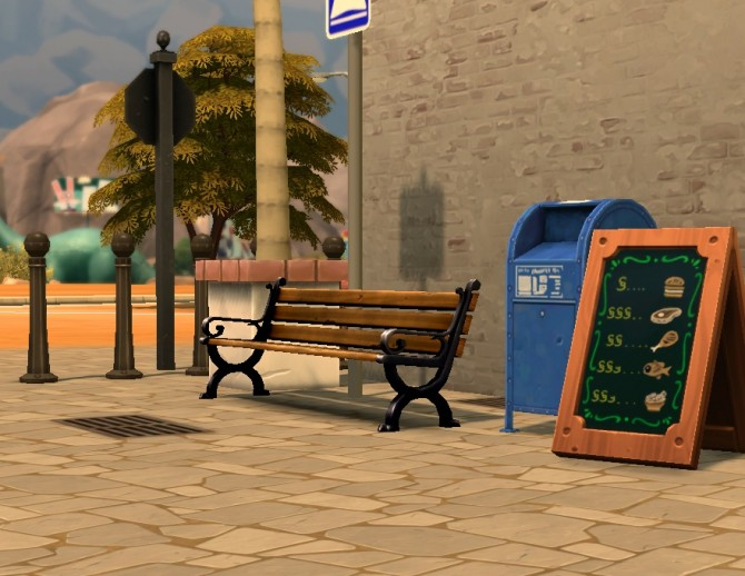 Sims 4 Liberated Street Deco by plasticbox at Mod The Sims