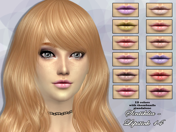 Lipstick 14 by Sintiklia at TSR image 5312 Sims 4 Updates