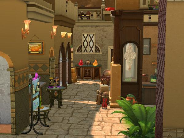 Bazaar lot by Leander Belgraves at TSR image 540 Sims 4 Updates