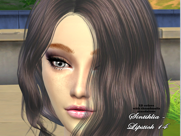 Lipstick 14 by Sintiklia at TSR image 5412 Sims 4 Updates