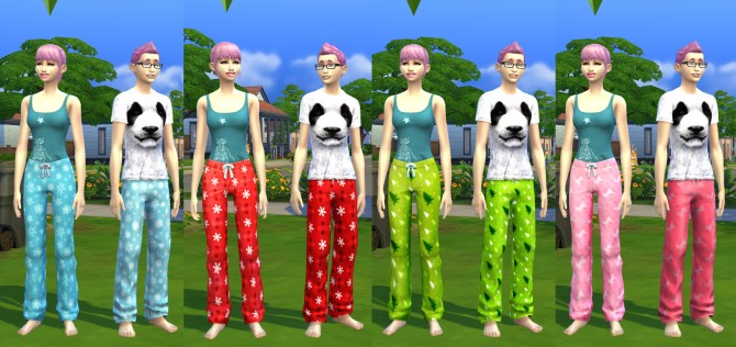 Holiday Cheer Sweatpants by xegtx at Mod The Sims image 549 Sims 4 Updates