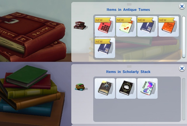 Sims 4 Readable Books by plasticbox at Mod The Sims