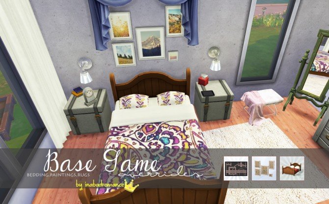 Sims 4 Decor objects overrides at In a bad Romance