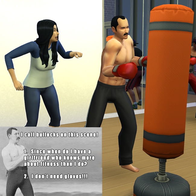 Overly Manly Man by BulldozerIvan at Mod The Sims image 595 Sims 4 Updates