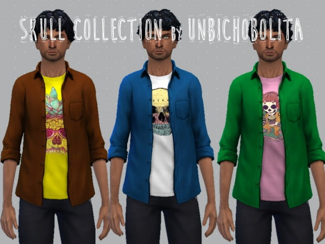 Sims 4 Skull collection at Un bichobolita