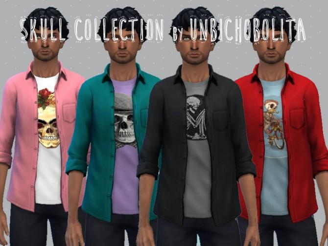 Skull collection at Un bichobolita image 6110 Sims 4 Updates