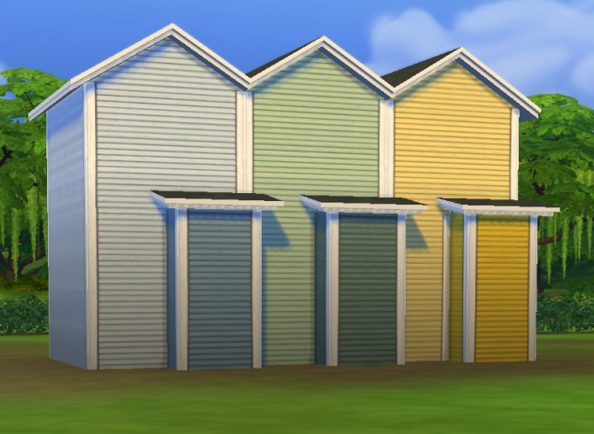 Simple Siding Add On: Extra Colours/Overrides by plasticbox at Mod The Sims image 6118 Sims 4 Updates