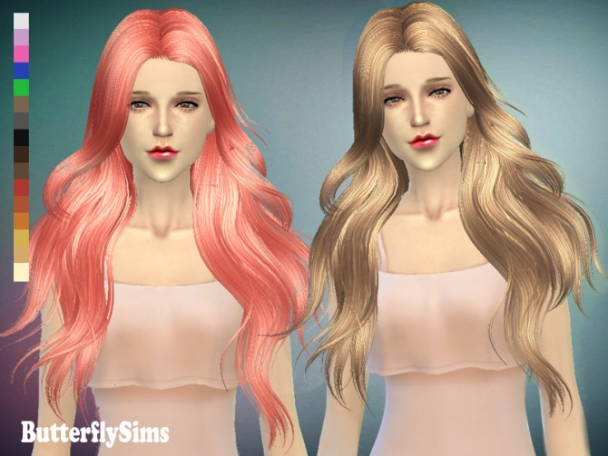 Hair 098 by YOYO (Pay) at Butterfly Sims image 6125 Sims 4 Updates
