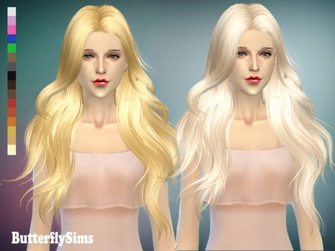 Hair 098 by YOYO (Pay) at Butterfly Sims image 6221 Sims 4 Updates