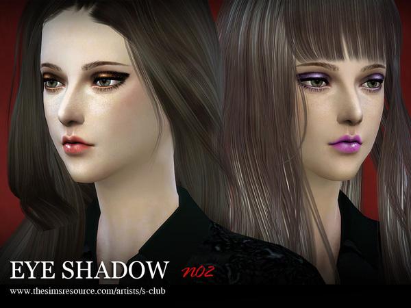 Sims 4 Eyeshadow 02 by S Club LL at TSR