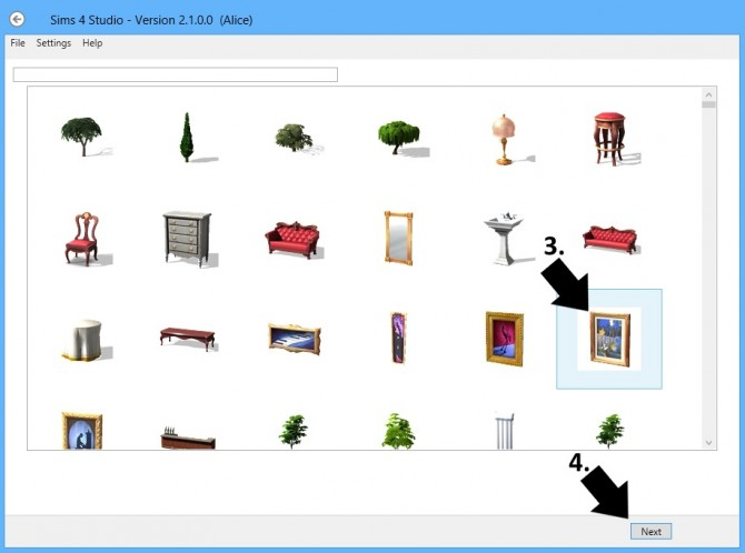 Sims 4 Recolor an Object with S4S at Sims 4 Studio