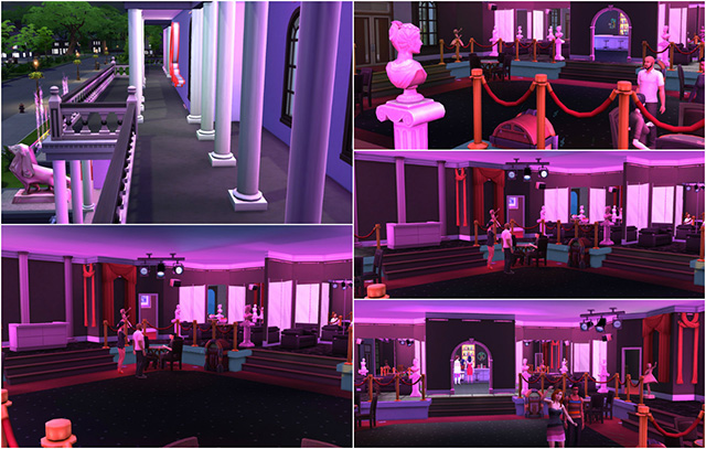 Scarface Babylon Club by Sim4fun at Sims Fans » Sims 4 Updates