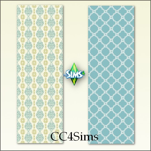 Sims 4 Walls by Christine at CC4Sims