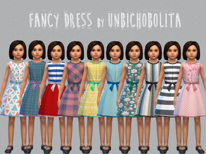 Fancy dress at Un bichobolita image 6920 Sims 4 Updates