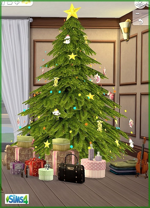 Santa Claus gift: Christmas living room by melaschroeder at All 4 ...