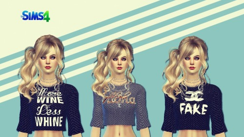 Sims 4 Cropped top at Sims 4 Ego