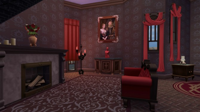 Vampire Castle By Aya20 At Mod The Sims 187 Sims 4 Updates