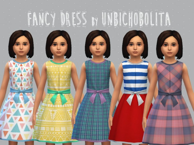 Fancy dress at Un bichobolita image 7019 Sims 4 Updates