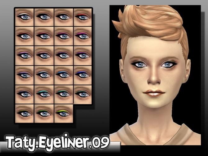 Sims 4 Eyeliner 09 at Taty – Eámanë Palantír