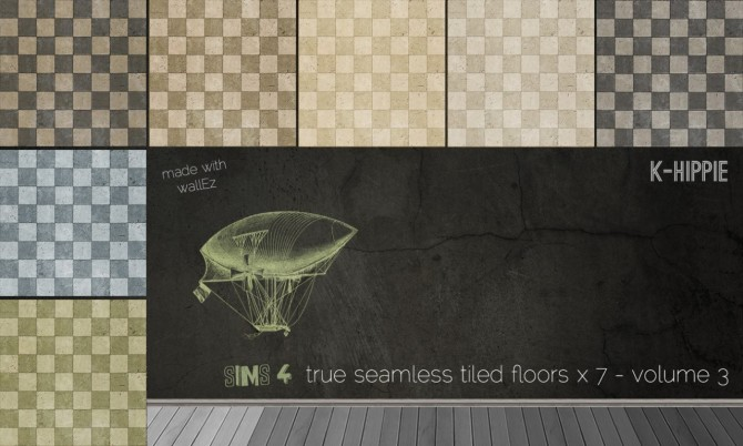 7 tiled floors vol 3 at K hippie image 7219 Sims 4 Updates