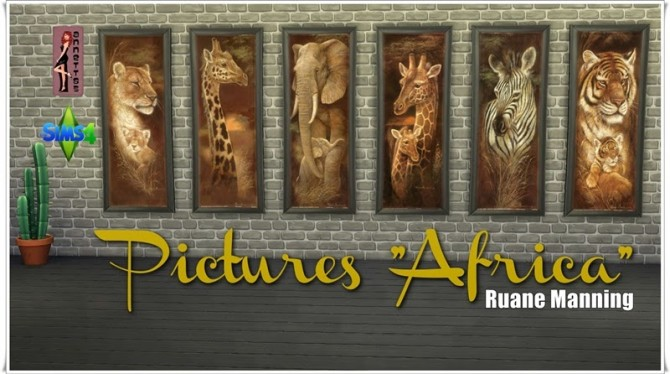 Sims 4 Africa pictures at Annett's Sims 4 Welt