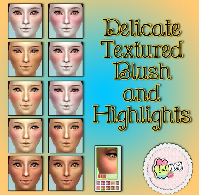 Blush, freckles, moles and false lashes at Eluney Design image 7415 Sims 4 Updates