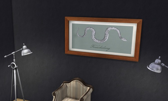 Fourchelang painting at K hippie image 7416 Sims 4 Updates