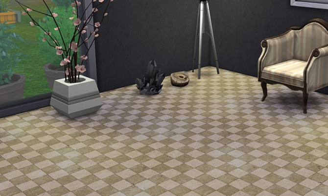 7 tiled floors vol 3 at K hippie image 7419 Sims 4 Updates