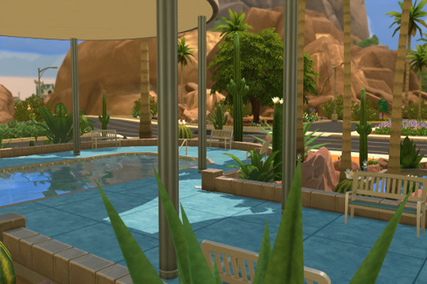 Wave Fitness center by mystril at Blacky's Sims Zoo image 7426 Sims 4 Updates